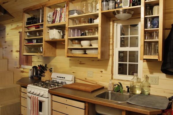 Самодельные кухни из дерева фото