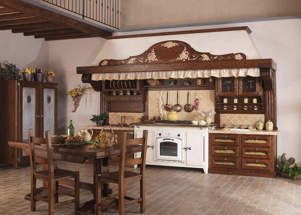 деревянная кухня своими руками с обеденным столом