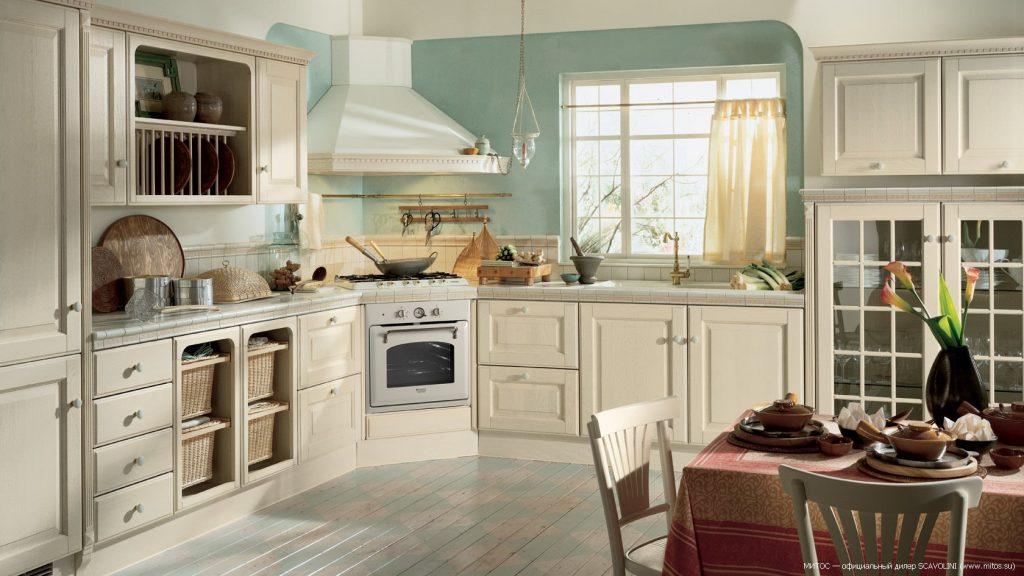 деревянная кухня в стиле прованс своими руками