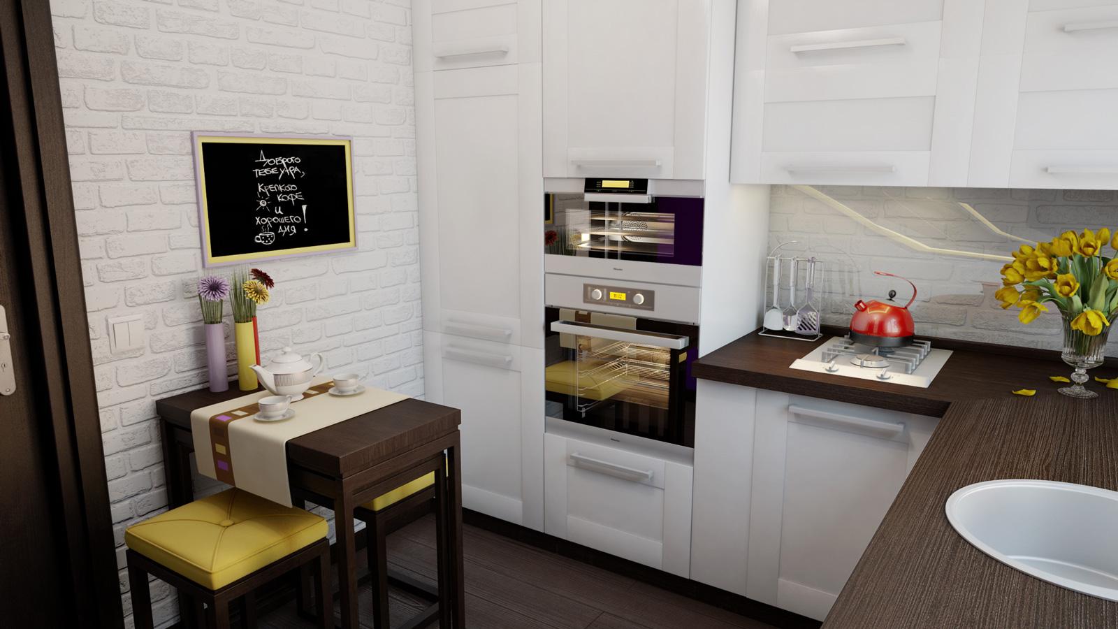 Ремонт кухни своими руками — реальные фото примеров