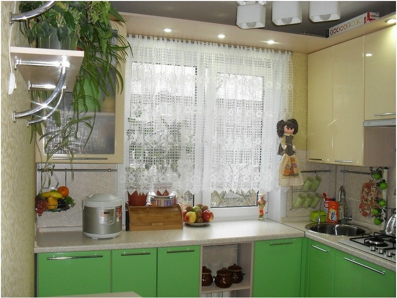 шкафы для хранения на кухне в хрущёвке