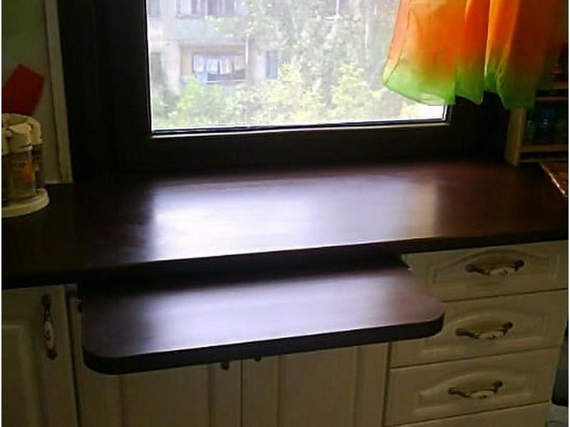 выдвижной столик на кухне в хрущёвке