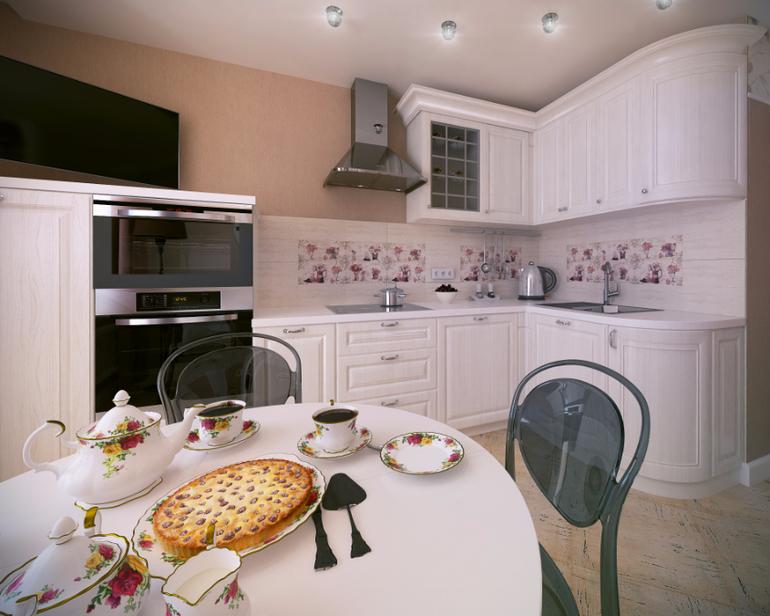 Дизайн кухни 11 кв.м.