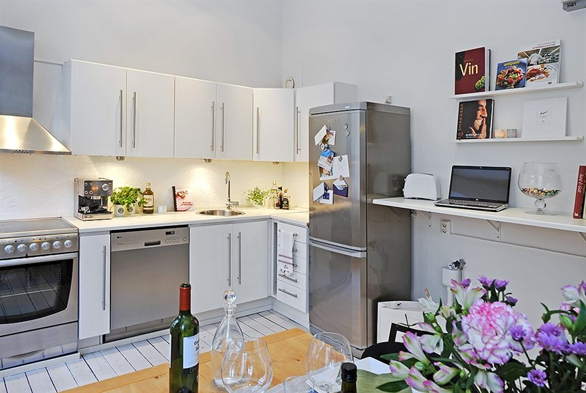 светлая кухня 11 кв.м.