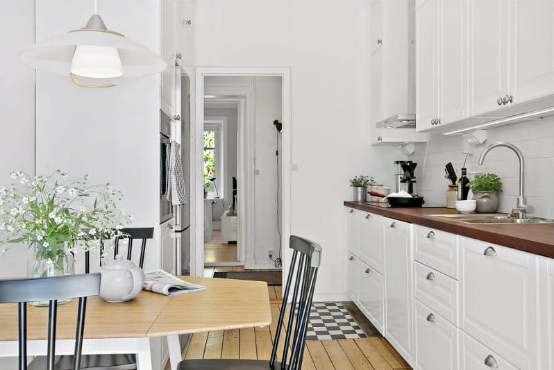 кухня 11 кв.м. в стиле прованс