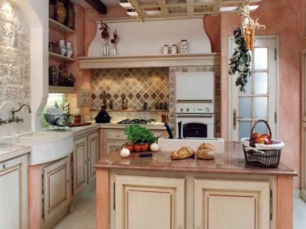 пастельный цвет на кухне
