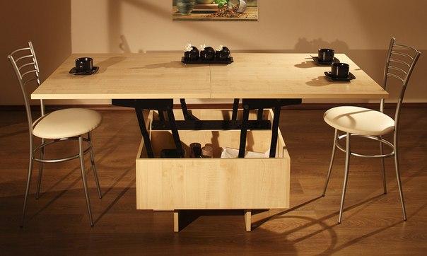 Стол-трансформер на кухне