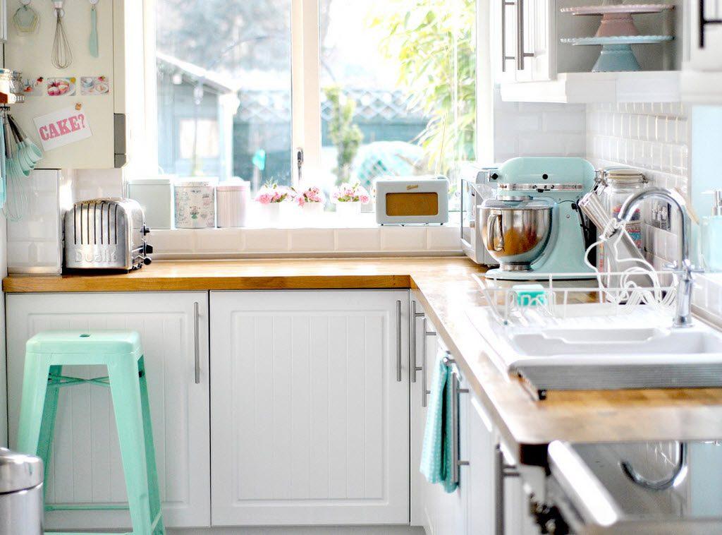 маленькая кухня угловая