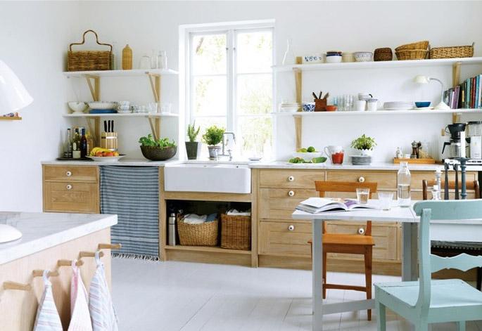 скандинавский стиль в квартире
