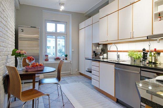 Маленькая скандинавская кухня