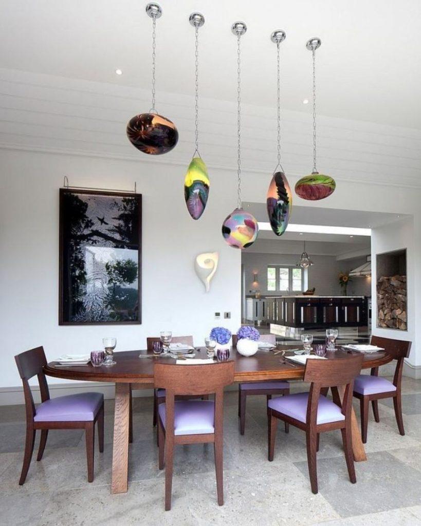 люстры на кухню из стекла