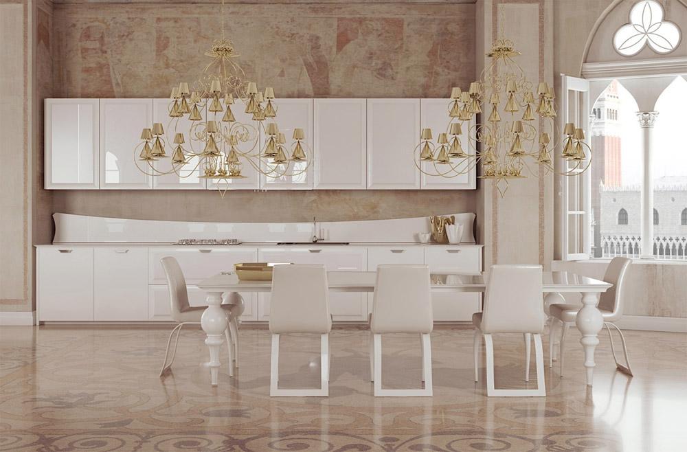 люстры для кухни в стиле минимализм