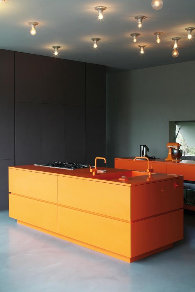 островная зона оранжевого цвета