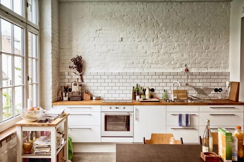 кухня 3 метра без верхних шкафов