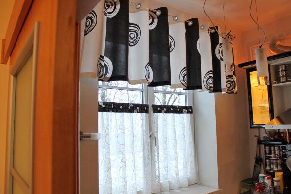 шторы для кухни на люверсах