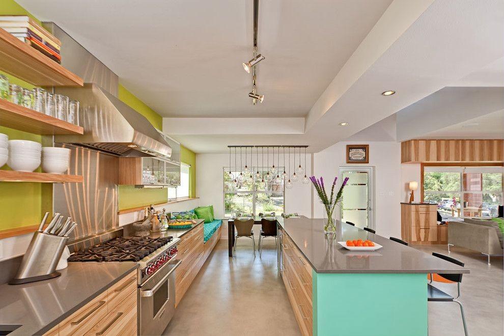 зелёные обои для кухни 2017